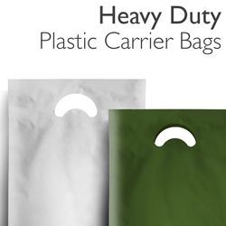 Heavy Duty Plastic Carrier Bags
